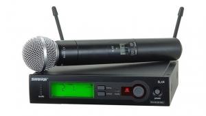 SHURE 舒尔SLX24/SM58真分集无线话筒